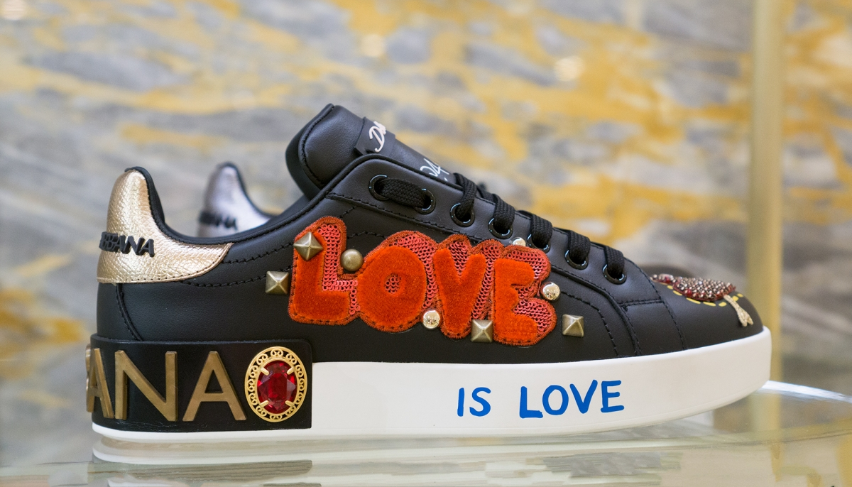#loveshoes from D&G